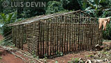 Hut made of mud bricks