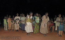 Baka polyphonic songs for the rite of initiation of the Baka Pygmies
