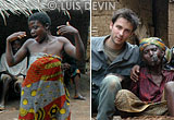 Luis Devin with Bedzan Pygmies