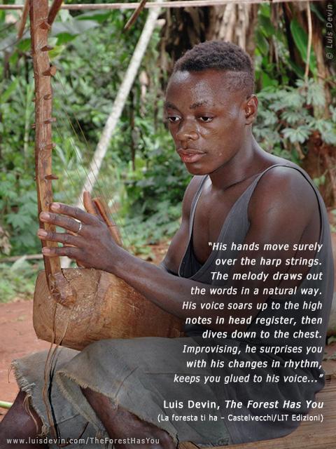 Baka Pygmies - Pygmy harp